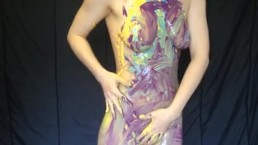 Paint Sploshing Wet & Messy