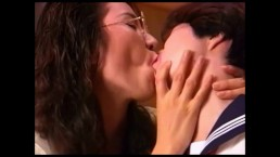 10 Very Sexy & Super Cute Japanese Lesbian Kissing Clips Part 2