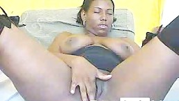 Floresitax from Pornhublive Is Ebony Babe Spreading Pussy Lips