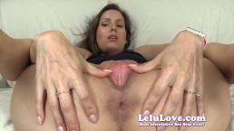 Lelu Love Super Closeup Pussy Spreading Asshole Puckering