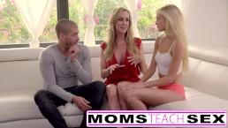 Moms Teach Sex Big tit mom catches daughter