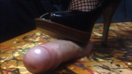 Cock Crushing in Heels by Lusty_Lily