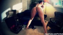 Alison Tyler's Nude Film Selfie