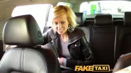 FakeTaxi Bonde gets tricked into taxi blowjob