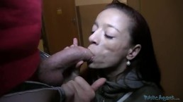Ugly Czech Girl Gets Tricked Into Fucking POV
