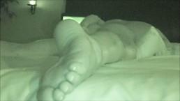 WIFE MASTURBATING WATCHING PORN MULTIPLE ORGASMS NIGHT VISION