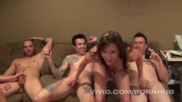 It's part 2 of 100% Real Swingers Kentucky and the orgy is well underway