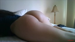 Watch my ass as I BLOW you Whispering V ASMR