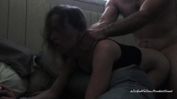 Tiny blonde screams as she gets her ass fucked Painal rough sex choking