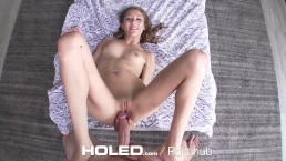 HOLED Sexy step sister Rebel Lynn's ass fucked by step brother
