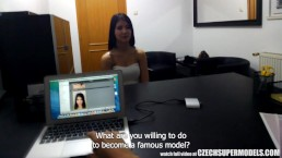 Amazing Sexy Teen Doing Interview for Model JOB