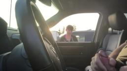 Car Dick Woman Takes a Gander
