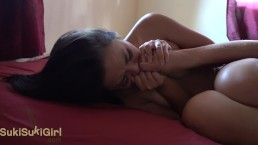 Her MOANS will make you CUM so fast 18 yr old asian EXTREME shaking orgasm