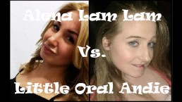 Epic Porn Battles Of Jizzstory Alena LamLam vs Little Oral Andie
