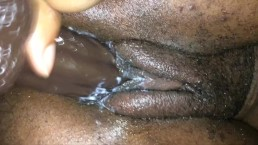 FINGER FUCKING MY WET CREAMY TIGHT TEEN PUSSY