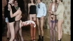 Dance party without panties then fuck vintage movie
