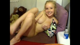 Barely Legal Teen Cutie Squeals With Pleasure