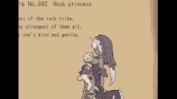 Flower fairy rock princess boss scene