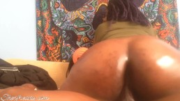 MASSive attack.. oily big booty gf twerking