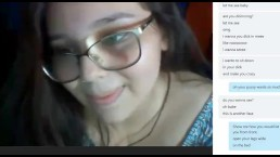 Brazillian girl Vick 19 year old petite girl with big ass on Skype