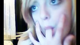 Webcam teen recording