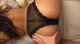 Young Latina Teen Starting To LOVE Getting Fucked In Her Perfect Ass