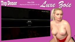 Twitch Stream Zoie Burgher Masturbates on Stream