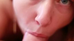 Amazing Close Up Blow Job