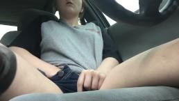 My first public masturbation in a car