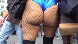CANDID RAVE BOOTY COMPILATION PAWG TEEN JIGGLY BIKINI FISHNETS GROPE