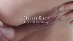 Close up with massive cumshot Claudia Class