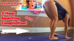 2 Hour Ultimate Squirting Compilation Plus HUGE Insertions